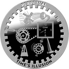 Series T.I.M.E A Grain Of Sand 1 oz .999 Silver US Proof-Like Capsuled Round
