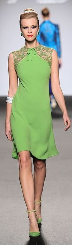 1000 Images About 5 1 Dresses Green On Pinterest