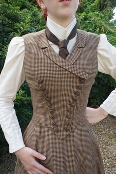 Victorian Walking Dress Victorian Riding by everybodylovesluci Victor. - Victorian Walking Dress Victorian Riding by everybodylovesluci Victorian Walking Dress Victorian Riding by everybodylovesluci Source by - dresses victorian Victorian Costume, Victorian Steampunk, Steampunk Costume, Steampunk Clothing, Steampunk Fashion, Victorian Outfits, Steampunk Vest, Victorian Ladies, Fashion Goth