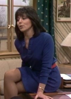 The joyce dewitt legs in pantyhose
