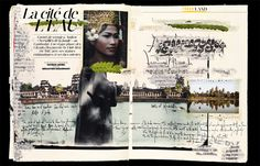 art journal inspiration. modds | Carnet de voyage - Angkor - Cambodge - Patrick Swirc pour Happy Life magazine