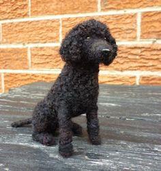 Needle Felted Poodle by Bazmia,
