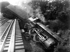 If we're going to do it -- let's do it right --> Why defunding Obamacare is better than delaying.authors described it as a train wreck and a disaster for America Abandoned Train, Rail Car, Train Pictures, Old Trains, Steam Engine, Steam Locomotive, Train Tracks, Train Station, Old Photos