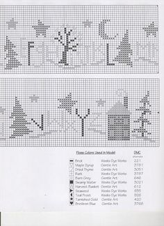 BC Neighborhood Row part2 DMC alternates are 221 3781 3051 3787 646 3021 612 935 926 420 3768) Stitch count 276x30.