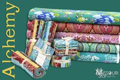For all you Amy Butler fans! New at the Missouri Star Quilt Company Alchemy by Amy Butler for Rowan Fabrics!