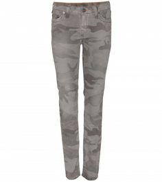 True Religion - HALLE CAMOUFLAGE SKINNY JEANS - mytheresa.com GmbH