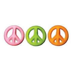 Lucks Dec-Ons Peace Sign Assortment, 12-Pack Peace Sign Birthday, Edible Cake Decorations, Big Six, Rainbow Cupcakes, Cupcake Cakes, Cupcake Toppers, Party Supplies, Stationery, Packing