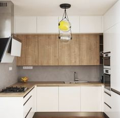 Style The Light Wood Kitchen Design That Will Be Chosen for Your New Kitchen Can Be Fun for Everyone - homevignette Kitchen Room Design, Modern Kitchen Design, Living Room Kitchen, Home Decor Kitchen, Interior Design Kitchen, New Kitchen, Luxury Kitchens, Home Kitchens, Cocinas Kitchen