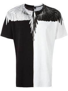 Marcelo Burlon County Of Milan camiseta con estampado de alas