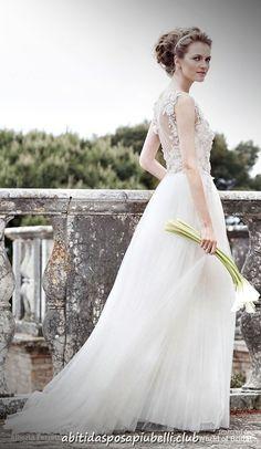 c333ae937c76 Alberta Ferretti 2018 Abiti da sposa collezione Forever