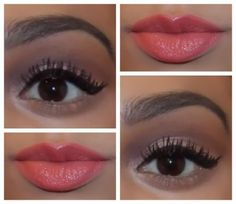 Pouty lips and classic wing ♥