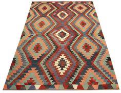 Turkish Oriental Kilim Rug floor rug kilim by kilimwarehouse, $600.00