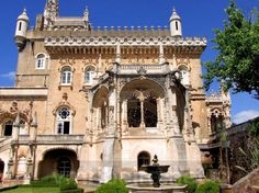 LUSO (Portugal): Palace-Hotel do Buçaco.
