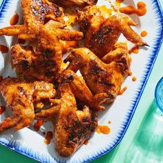 3-Ingredient Buffalo Grilled Chicken Wings