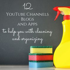 Cleaning hacks and tips from best Bloggers and Youtubers #cleaning #cleaningtips #cleaninghacks #motivation #organization #organizationtips