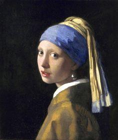 Het meisje met de parel is een schilderij afkomstig uit 1665-1667 van de Hollandse meester Johannes Vermeer
