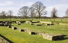 ground level view - Chesters Roman Fort is the most complete Roman cavalry fort in Britain