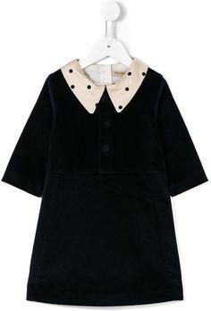Hucklebones London velvet shift dress