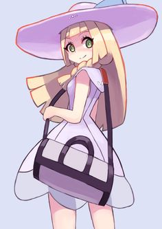 Pixiv Id 2447058, Pokémon, Lillie (Pokémon), Shoulder Bag