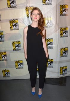 Rose Leslie - SDCC 2014
