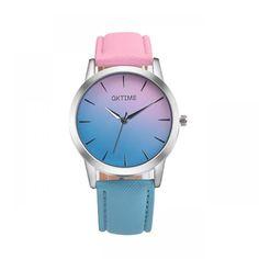zegarek damski Ombre Retro Rainbow