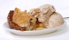 Enjoy fresh baked apple pie with Pierre's cinnamon ice cream at Yours Truly Restaurants!