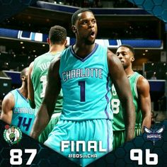 Hornets final score graphic