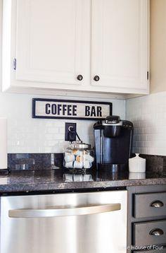 Trash to Treasure Coffee Bar Sign