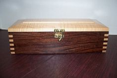 Handmade Wooden Keepsake Box