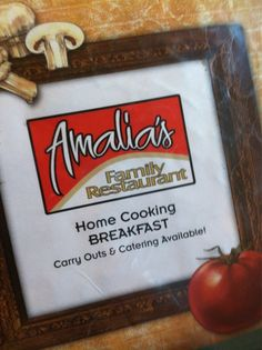 Amalia's Family Restaurant, Oconomowoc, WI