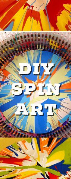 DIY Spin Art: Easy Crafts for Kids