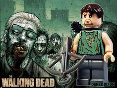 Lego Daryl Dixon #TheWalkingDead