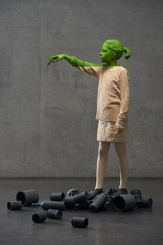 Sculptor Willy Verginer Expresses Environmental Concerns in New Works | Hi-Fructose Magazine