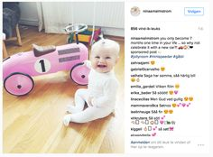 Lila car on a Swedish IG-post 2016