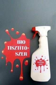 Bio vízkő- és zsíroldó tisztítószer