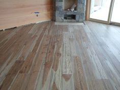 This is our Plantation Hickory floor. This was done by Superior Floors in Lake Placid, NY.