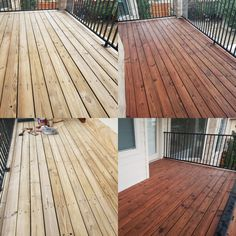 Oil-based stain, from Sherwin Williams, Superdeck transparent Redwood Deck Stain Colors, Pressure Washing Services, Restore Wood, Oil Based Stain, Entrance Ways, Wood Surface, Window Cleaner, Deep Cleaning, Ground Floor