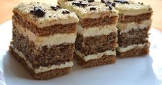 Food Cakes, Nutella, Tiramisu, Cake Recipes, Food And Drink, Ice Cream, Sweets, Ethnic Recipes, Kitchen