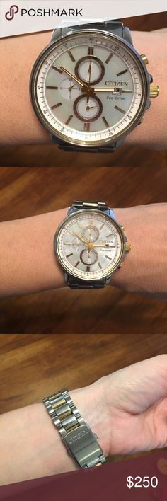Citizen Ladies Nighthawk Eco-drive Watch Like new... I got it for Christmas (2017) but it's just not me. If I can find the box, I'll include it, but I do have the directions and the extra links. Citizen Accessories Watches