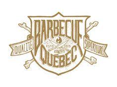 Dribbble - Bbq Qc crest by Carl Bédard