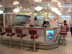 50S Diner Decor | Adventures in Abu Dhabi