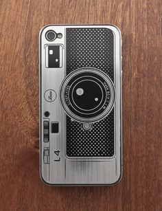 Customize and protect your IPhone 4 with this precision etched stainless steel plate.