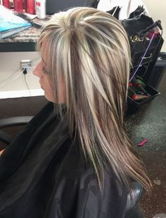 Every woman loves trendy and gorgeous hair. And hair highlights have always been in craze among wome Love Hair, Great Hair, Gorgeous Hair, Chunky Blonde Highlights, Hair Color Highlights, Caramel Highlights, Light Highlights, Medium Hair Styles, Long Hair Styles