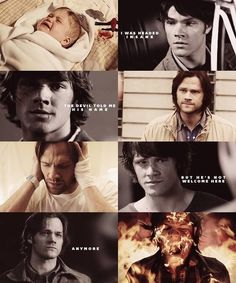 Sam Winchester is hardcore, people. <--- Sam Winchester is awesome.