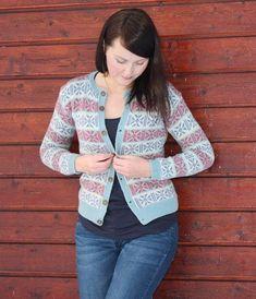 Knit Me - Alvelyskofta Cardigan Design, Fair Isle Knitting, Mantel, Blazer, Creative, Pattern, Sweaters, Inspiration, Inspired