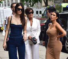 Kris Jenner - The ultimate businesswoman, Jenner transformed her attractive, press-friendly family into a pop-culture phenomenon—herself included. Jenner's sleek suiting and signature shades mean business, while the distinctive do says it's time to party.