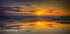 Dundalk port sunrise