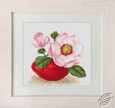 CROSS STITCH KITS - LUCA-S - Flowers - Magnolie - Gvello Stitch