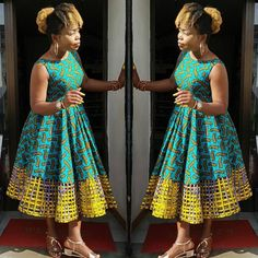We are lucky to live in a world where pretty much anything goes, fashion-wise. It means that people can express themselves in all kinds of ways through clothing. Best African Dresses, Latest African Fashion Dresses, Ankara Fashion, African Print Dresses, African Print Fashion, Africa Fashion, African Attire, African Wear, Sotho Traditional Dresses