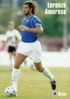 Lorenzo Amoruso of Rangers in Rangers Football, Rangers Fc, Football Players, Glasgow Scotland, Football Pictures, Running, Sports, People, Teddy Bears